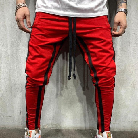 Men's Solid Color Sports Trousers