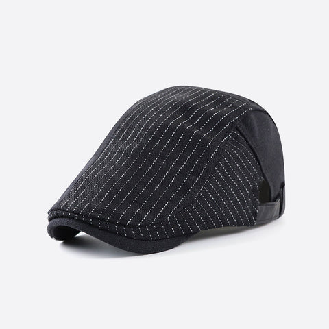Men's casual British style stitching all-match beret