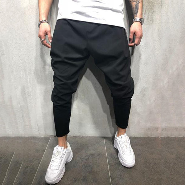 Men's plain casual all-match harem pants