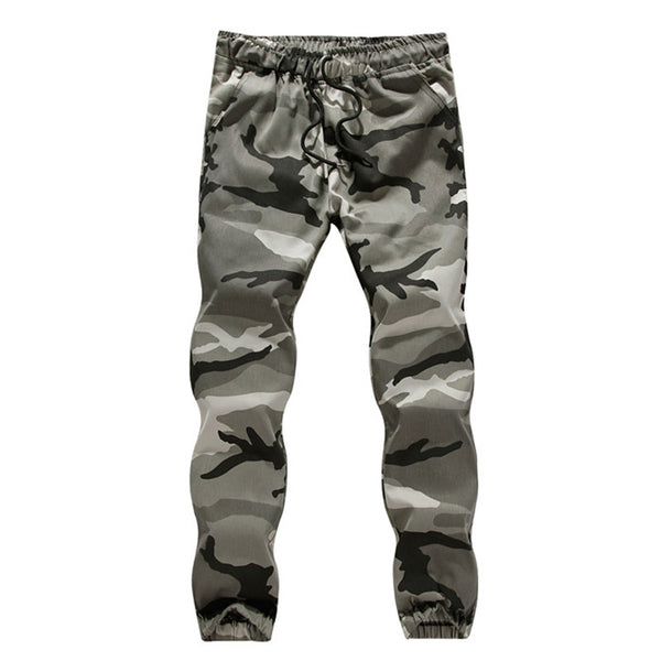Men's camouflage tooling trousers
