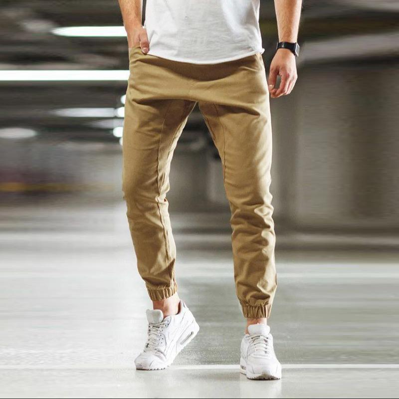 MANFLARE - Men's plain casual trousers