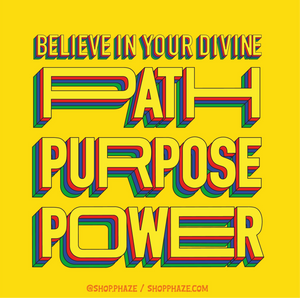 "Open image in slideshow, ""Path, Purpose, Power"" Poster"