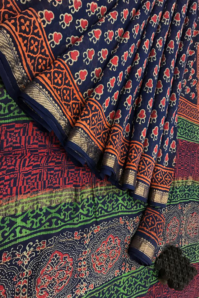 Maheswari Silk Cotton Sarees