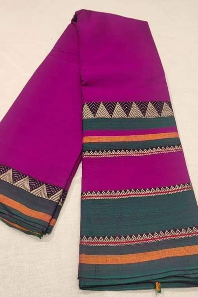 Narayanpet Mercerised Cotton Saree