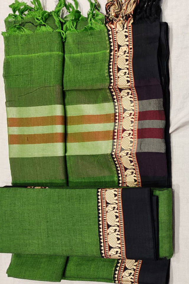 Narayanpet Mercerised Cotton Dress Material