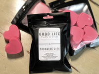 Paradise City Heart Shaped Wax Melts