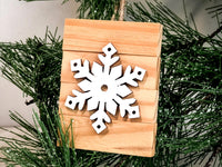 Wood Block Ornament