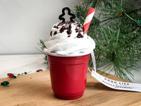 Delicious Faux Whipped Topping Ornament