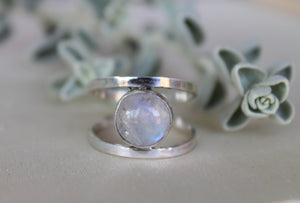 Moonstone Ring - Size 9.25