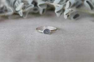 Libra Zodiac Stacking Ring