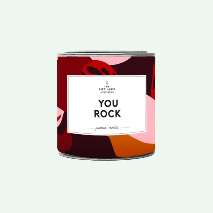 You Rock Candle tin 310g- Jasmine Vanilla, Gift-[ Projectgenz][Daretodreamshop]