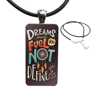 Dream fuel necklace, Jewellery-[ Projectgenz][Daretodreamshop]