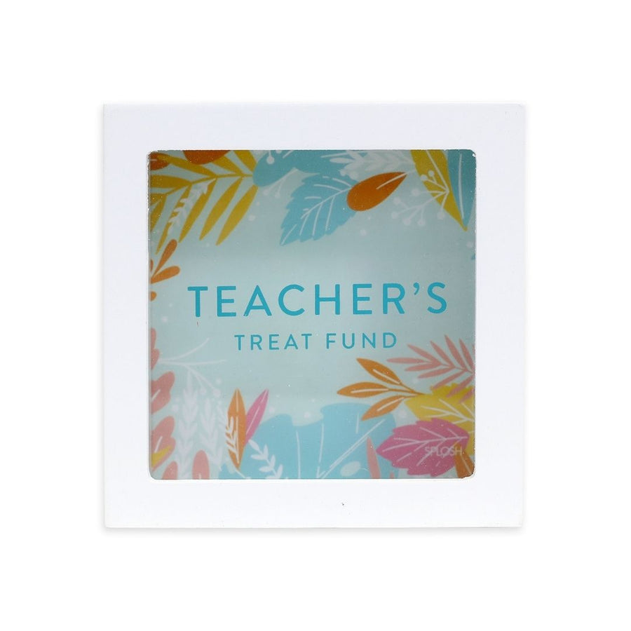 'Teacher's Treat Fund' mini money box, Gift-[ Projectgenz][Daretodreamshop]