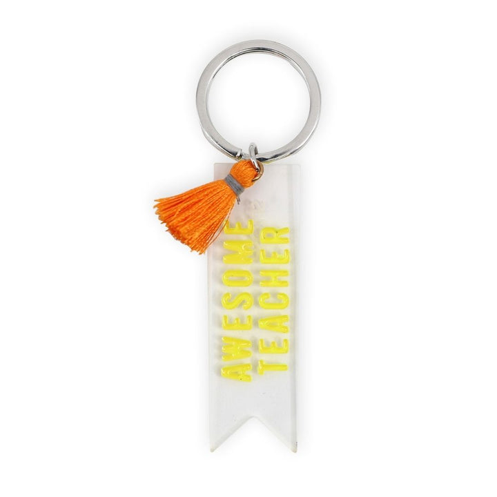 Awesome Teacher Keychain, Gift-[ Projectgenz][Daretodreamshop]