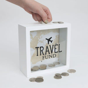 Travel Fund Money Box, Gift-[ Projectgenz][Daretodreamshop]