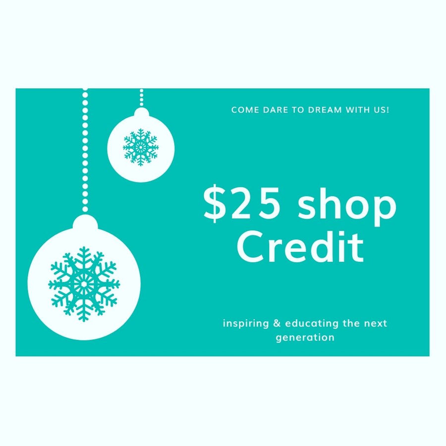 Dare to dream Christmas gift card, Gift card-[ Projectgenz][Daretodreamshop]