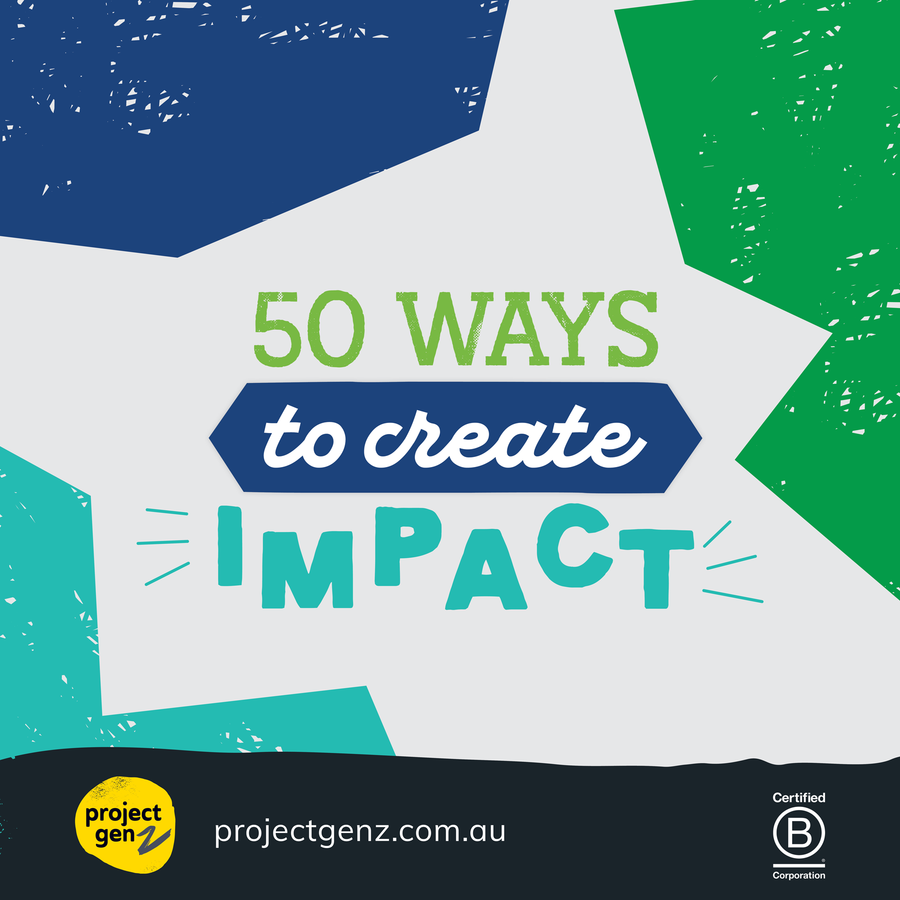 Freebie - 50 ways to create impact, online program-[ Projectgenz][Daretodreamshop]