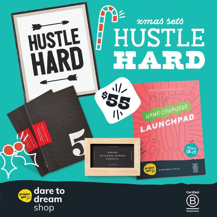 Hustle Hard Christmas kit, Gift-[ Projectgenz][Daretodreamshop]