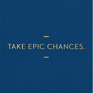 Take Epic Chances notebook, Notebook-[ Projectgenz][Daretodreamshop]
