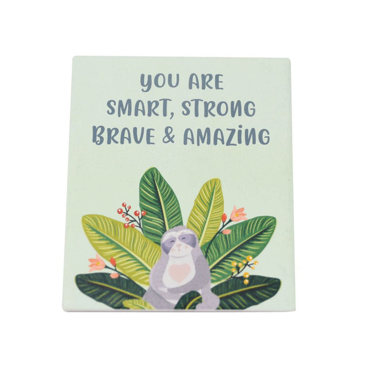 'You are smart, strong, brave & amazing' quote, Gift-[ Projectgenz][Daretodreamshop]