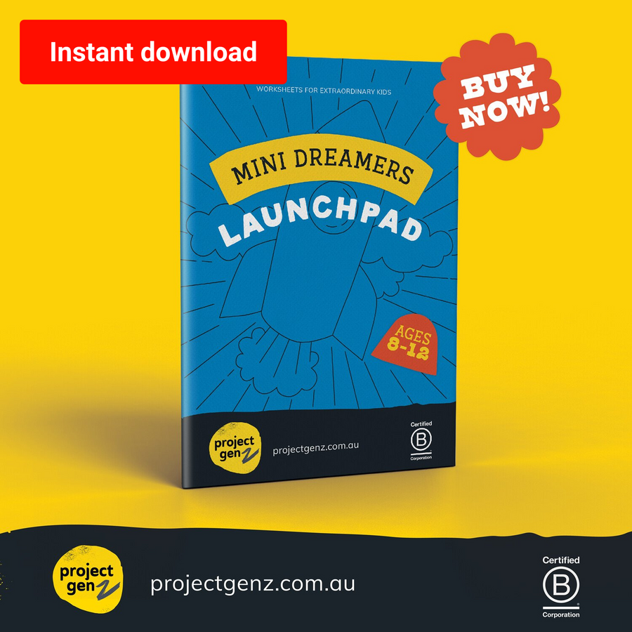 Launchpad- A kids guide to starting a business., online program-[ Projectgenz][Daretodreamshop]