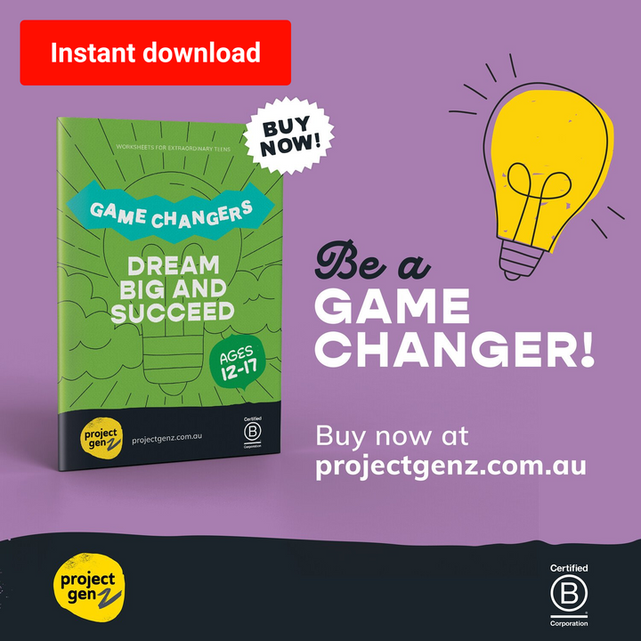 Dream big & succeed for teens - Game changers, online program-[ Projectgenz][Daretodreamshop]