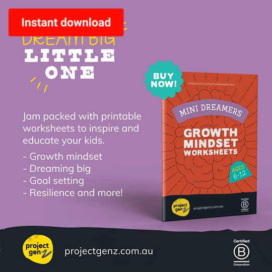 Mini Dreamers Growth mindset bundle, online program-[ Projectgenz][Daretodreamshop]