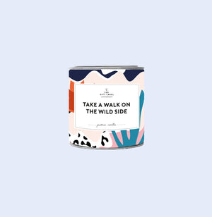 Take a Walk candle tin 90g- Fresh Cotton, Gift-[ Projectgenz][Daretodreamshop]