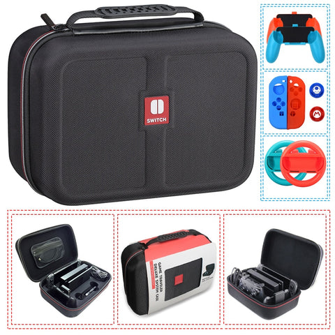 Best Nintendo Switch  Carrying Storage Bag Kit