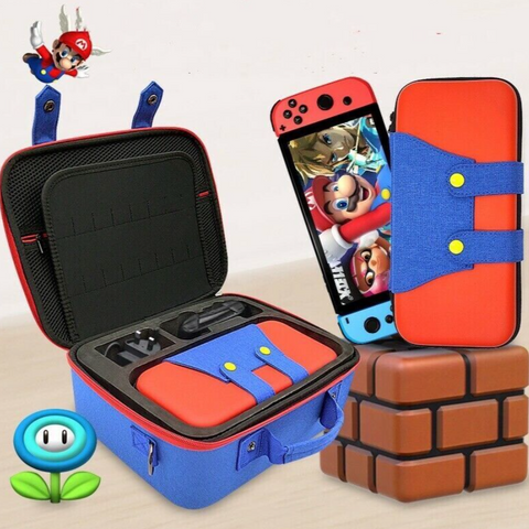 Multi-Function Nintendo Switch Storage Bag