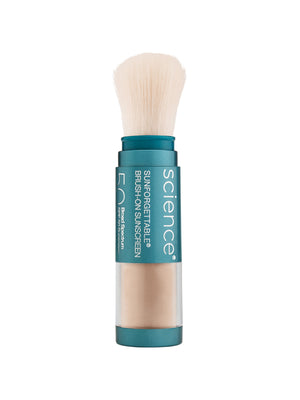 Colorescience Sunforgettable Enviroscreen Protection Brush- On Shield SPF50 Tan