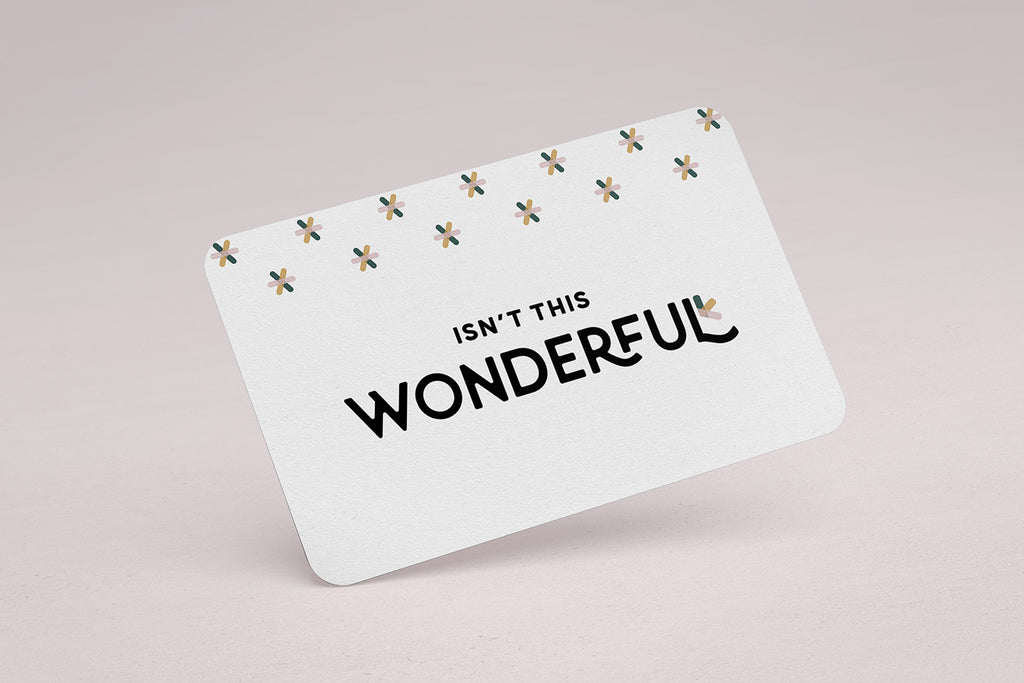 Wonder Skincare Gift Card