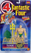 "NAMOR THE SUB-MARINER W/Power Punch 6"" Action Figure  FANTASTIC FOUR ANIMATED SERIES Marvel Toy Biz Toy"