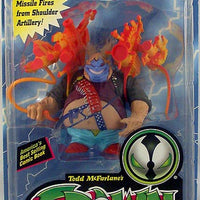 "CLOWN II ORANGE GUNS 6"" Action Figure SPAWN SERIES 4 Spawn McFarlane Toy (SUB-STANDARD PACKAGING)"