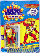 "FIRESTORM The Nuclear Man 5"" Action Figure SUPER POWERS COLLECTION DC Comics Kenner Toy (SUB-STANDARD PACKAGING)"