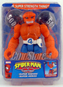 "SUPER STRENGTH THING 6"" Action Figure SPIDER-MAN & FRIENDS Toy Biz Toy (SUB-STANDARD PACKAGING)"
