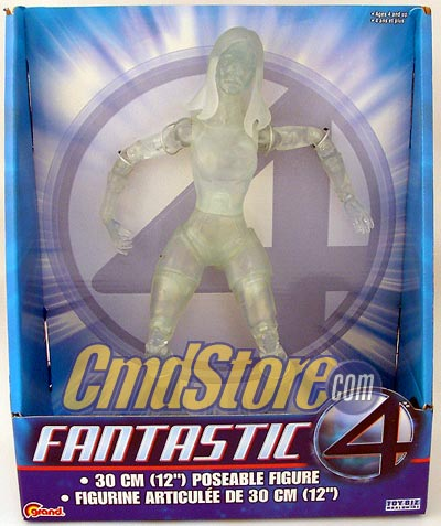 INVISIBLE WOMAN (CLEAR) 12 Inch Action Figure FANTASTIC FOUR MOVIE 12 INCH SERIES 2 Marvel Toy Biz Toy