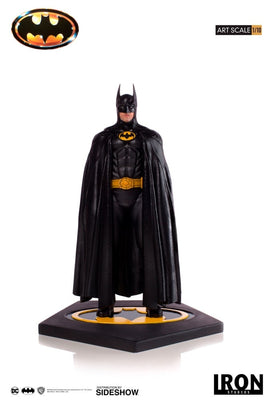 1:10 Art Scale Line 12 Inch Statue Figure Batman Movie - Batman 1989 Iron Studios 904356