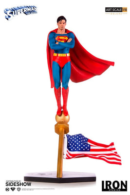 1:10 Art Scale Line 13 Inch Statue Figure Superman Movie - Superman 1978 Iron Studios 904267
