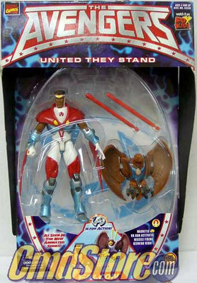 FALCON  The Avengers Marvel Action Figure By Toy Biz