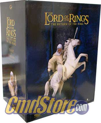 GANDALF W/SHADOWFAX Polystone Statue THE LORD OF THE RINGS RETURN OF THE KING Sideshow Weta Collectibles Toy