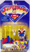 "SUPERGIRL 5"" Action Figure SUPERMAN ANIMATED Series Kenner Toys"