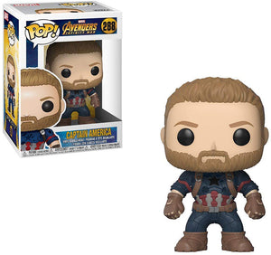 Pop Marvel 3.75 Inch Action Figure Avengers Infinity War - Captain America #288