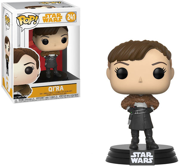 Pop Star Wars 3.75 Inch Action Figure Star Wars - Qi'Ra #241