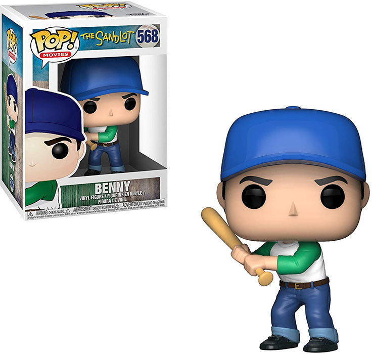 Pop Movies 3.75 Inch Action Figure The Sandlot - Benny #568