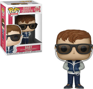 Pop Movies 3.75 Inch Action Figure Baby Driver - Baby #594