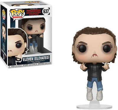 Pop Television 3.75 Inch Action Figure Stranger Things - Elevated Eleven #637