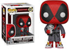 Pop Marvel 3.75 Inch Action Figure Deadpool - Bedtime Deadpool #327