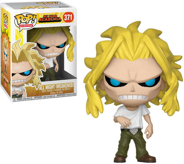 Pop Animation 3.75 Inch Action Figure My Hero Academia - All Might Weakened #371