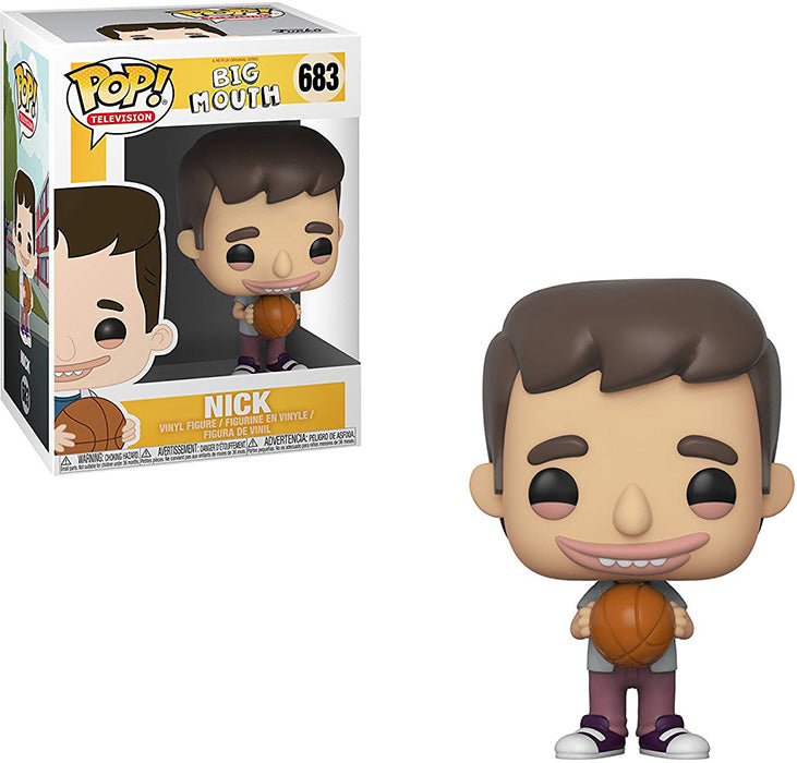 Pop Television 3.75 Inch Action Figure Big Mouth - Nick #683